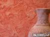 Нанесение на потолок итальянской декоративной шпатлёвки ( венецианка )
