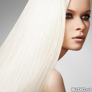 Обесцвечивание длинных волос