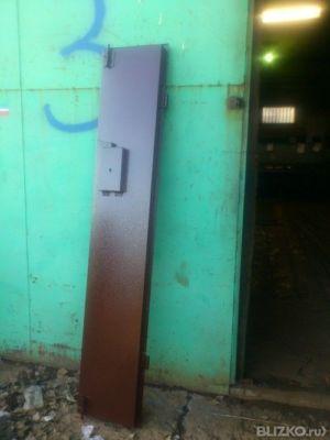 заказать металлическую подъездную дверь с домофоном в москве