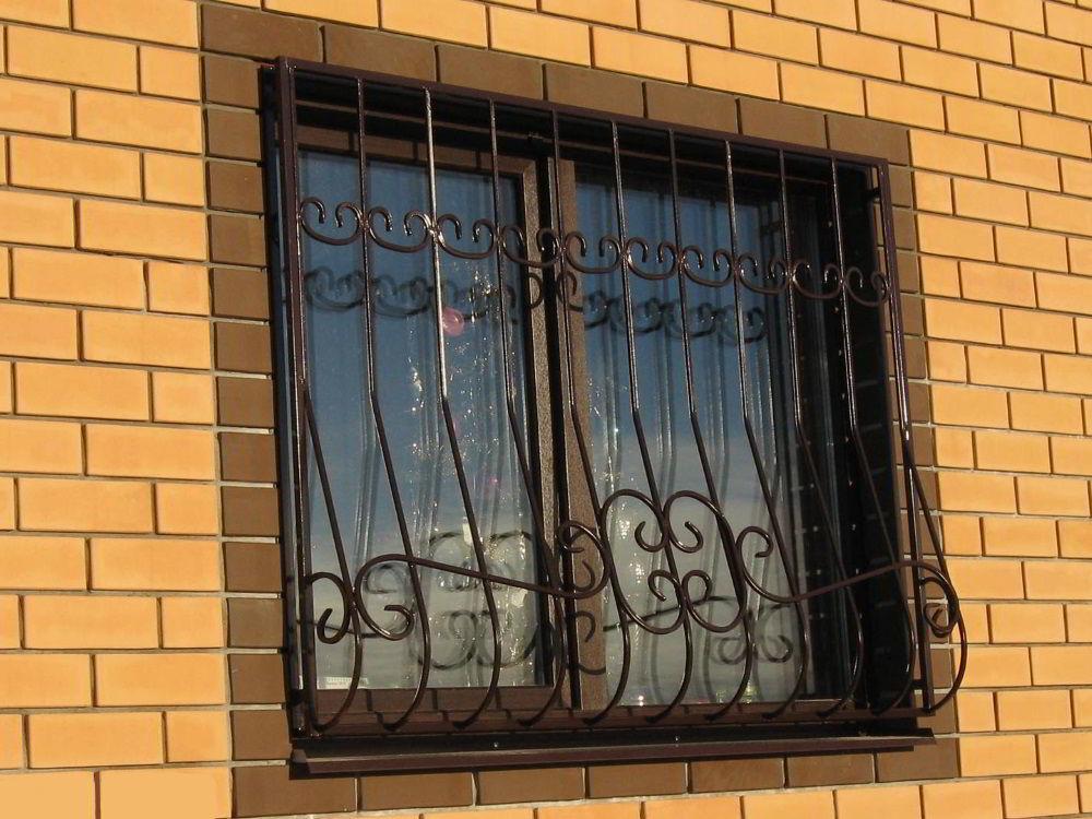 фото решеток на окна сварные пенал великолепно справляются