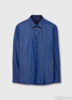 033d7400413 Рубашка из жаккардовой ткани OSTIN