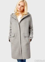 1e2e3dace70 Шерстяное пальто с капюшоном OSTIN
