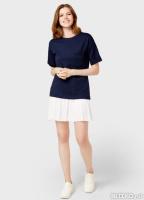 a578d3da23c Платье-футболка с плиссированной юбкой OSTIN